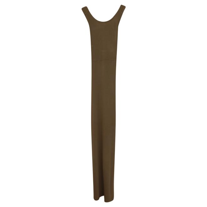 vanilia lange jurk