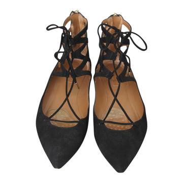 Tweedehands Aquazzura Platte schoenen