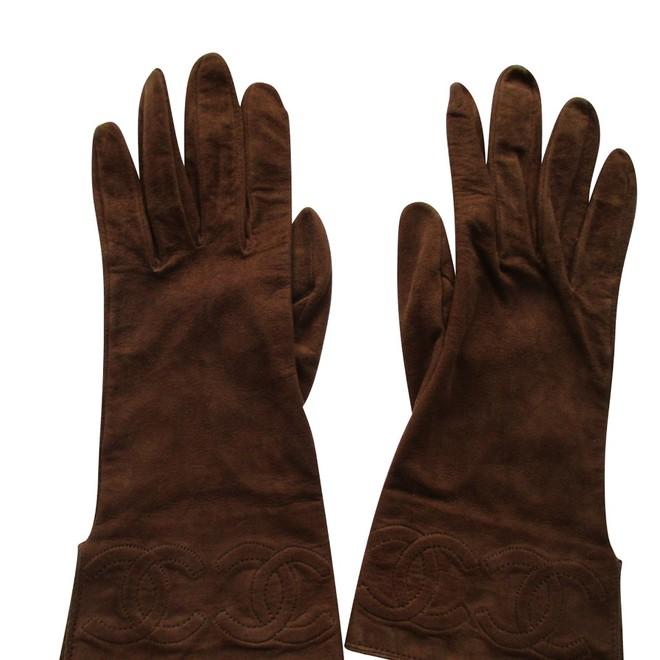 tweedehands Chanel Handschuhe