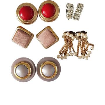 Tweedehands Vintage Earrings