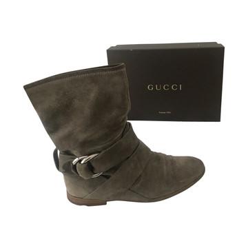 Tweedehands Gucci Enkellaarzen