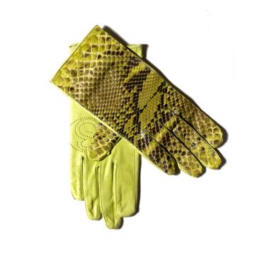 Tweedehands Stephan Badal Python Handschoenen