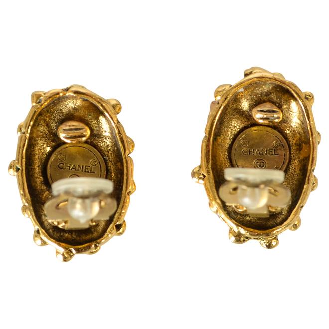 tweedehands Chanel Vintage Oorbellen
