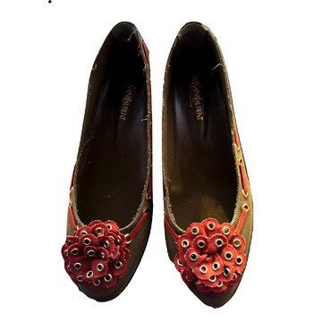 Tweedehands Yves Saint Laurent Platte schoenen