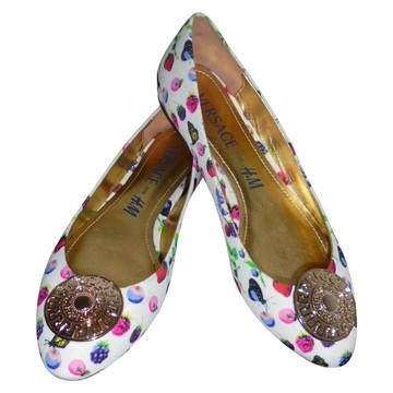 Tweedehands H&M x Versace Platte schoenen