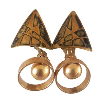 Tweedehands Vintage Ohrringe