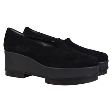 Tweedehands Robert Clergerie Platte schoenen