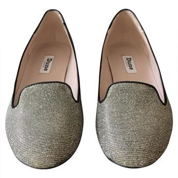 Tweedehands Dune Platte schoenen