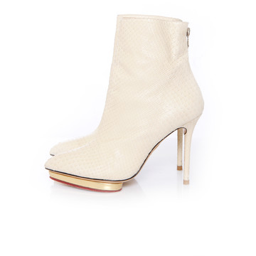 Tweedehands Charlotte Olympia  Ankle boots