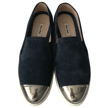Tweedehands Miu Miu Platte schoenen