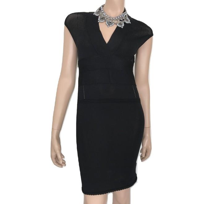 tweedehands Vintage Midi jurk