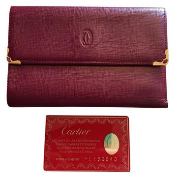 Tweedehands Cartier Portemonnee