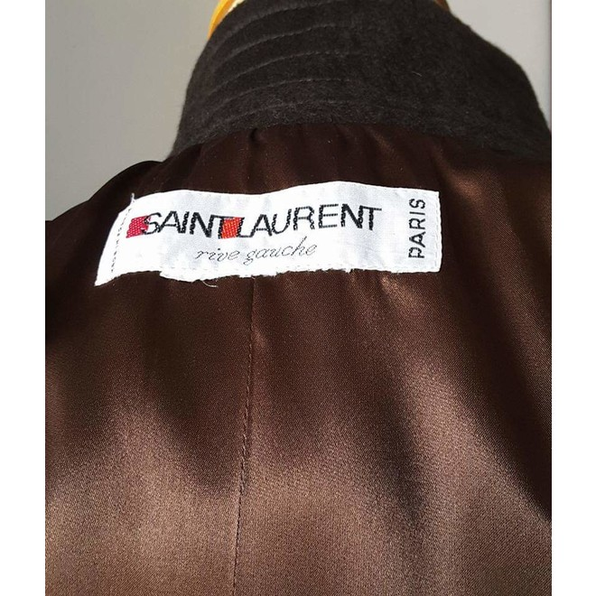 tweedehands Yves Saint Laurent Coat