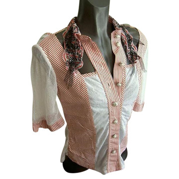 Tweedehands Save the Queen Blouse