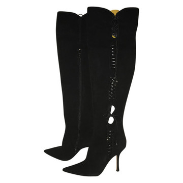 Tweedehands Jimmy Choo Stiefel