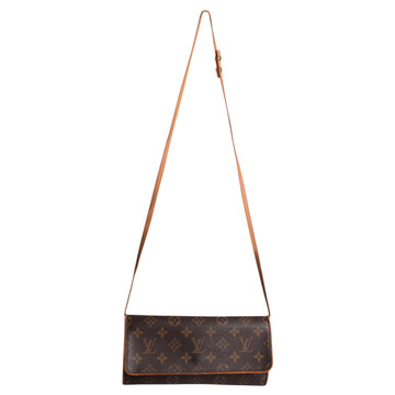Tweedehands Louis Vuitton Twin Pochette Clutch