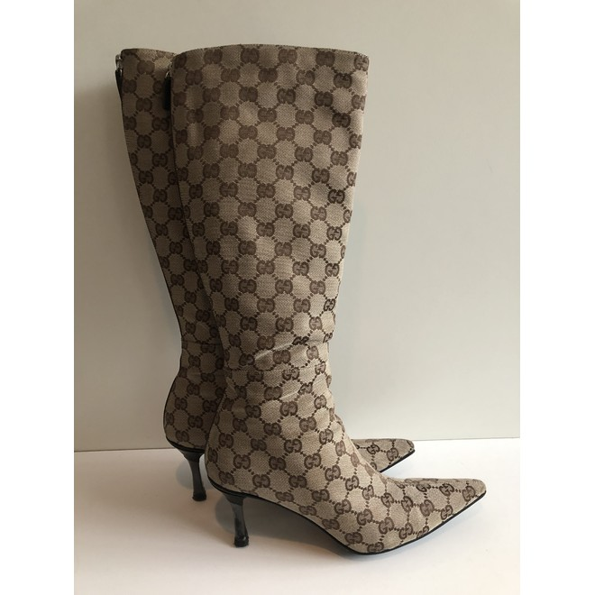 tweedehands Gucci Stiefel