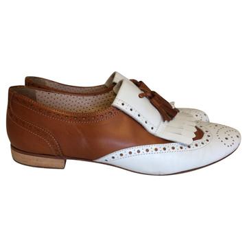 Tweedehands Pertini Flache Schuhe