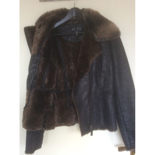 tweedehands Armani Coat