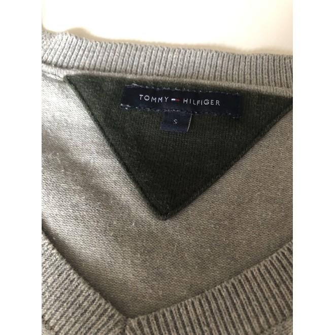 tweedehands Tommy Hilfiger Trui of vest