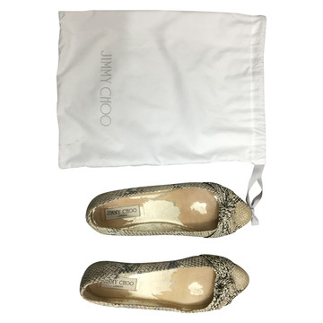 Tweedehands Jimmy Choo Flache Schuhe