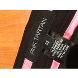 tweedehands Pink tartan Rok