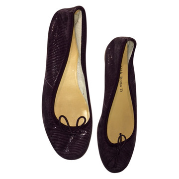Tweedehands Via Roma 15 Flache Schuhe