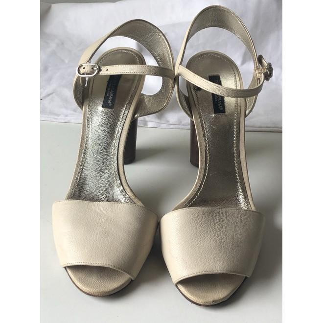 tweedehands Dolce & Gabbana Sandalen