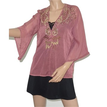 Tweedehands Antik Batik Bluse