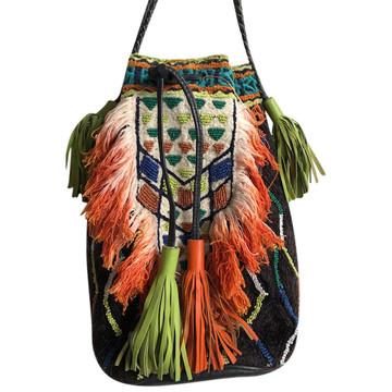 Tweedehands Antik Batik Schoudertas
