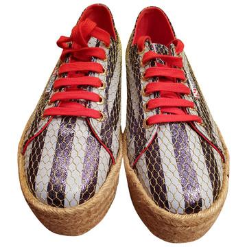Tweedehands Superga Platte schoenen