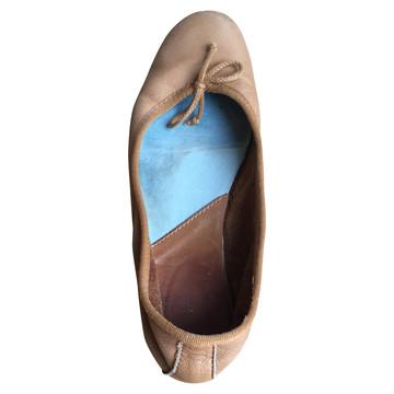 Tweedehands Fred de la Bretoniere Flache Schuhe