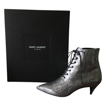 Tweedehands Saint Laurent Paris Laarzen