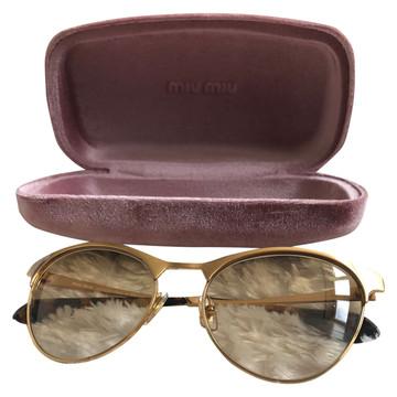 Tweedehands Miu Miu Sonnenbrillen