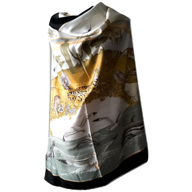 tweedehands Salvatore Ferragamo Schal oder Tuch