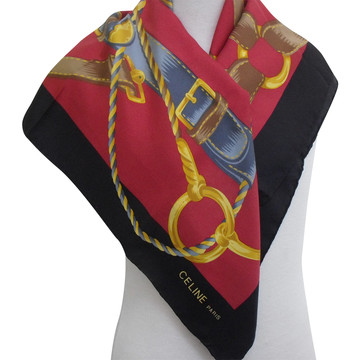 Tweedehands Celine Schal oder Tuch