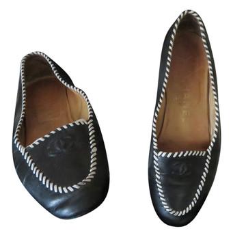 Tweedehands Chanel Flache Schuhe