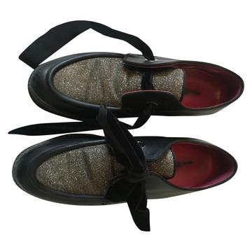 Tweedehands Alberto Gozzi Flache Schuhe