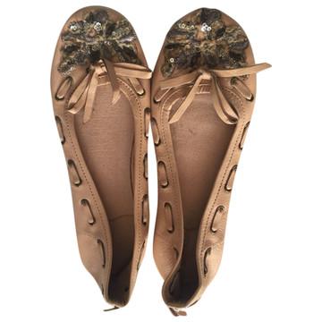 Tweedehands Antik Batik Flache Schuhe