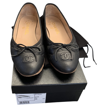 Tweedehands Chanel Platte schoenen