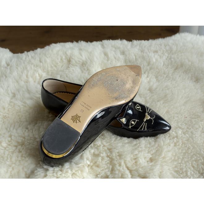 tweedehands Charlotte Olympia  Flache Schuhe