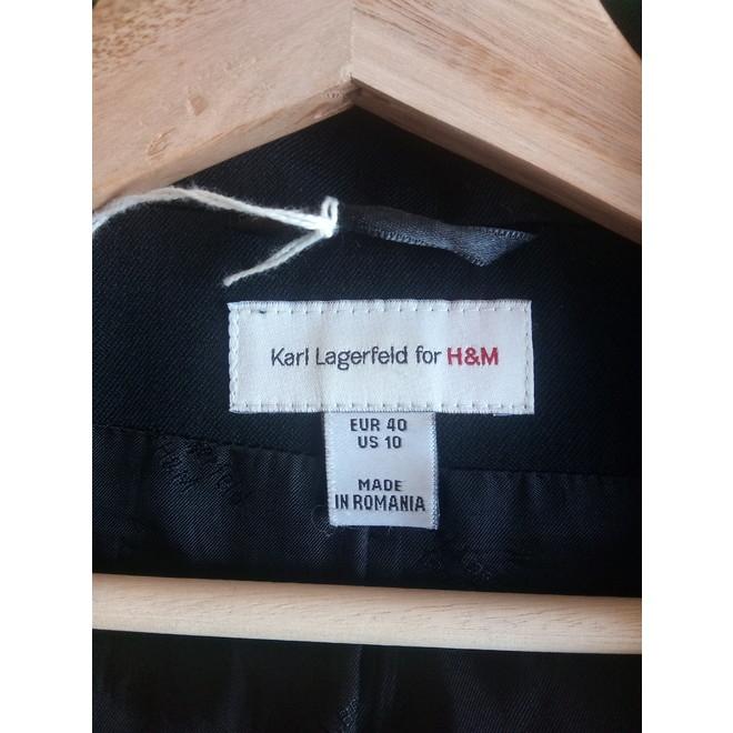 tweedehands H&M x Karl Lagerfeld Blazer