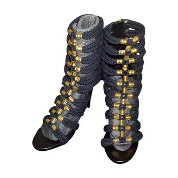 Tweedehands H&M x Balmain Stiefel