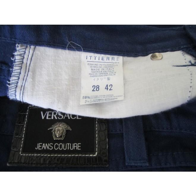 tweedehands Versace Broek