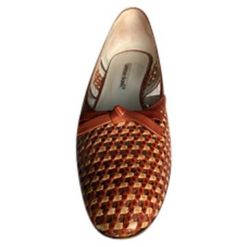 Tweedehands Lorenzo Banfi Platte schoenen