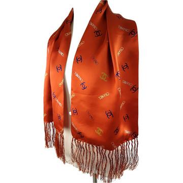 Tweedehands Chanel Schal oder Tuch