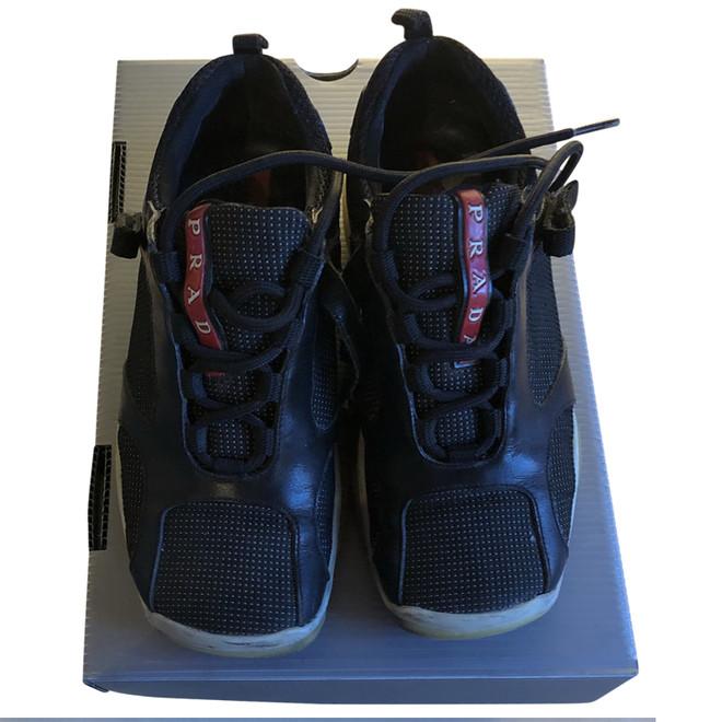 tweedehands Prada Flache Schuhe
