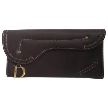 Tweedehands Christian Dior Portemonnee