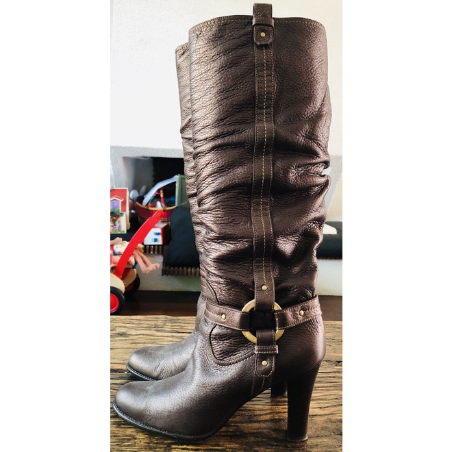 tweedehands Bally Stiefel