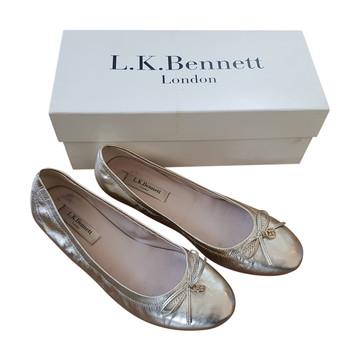 Tweedehands L.K. Bennett Flache Schuhe